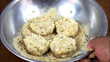 Battering the Macaroni (3 Step Method)