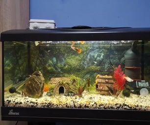 Aquarium Water Cooling System