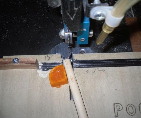 Pocket Hole Plug Cutting Jig