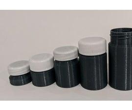 Existing Bottle Cap Pots in 3D