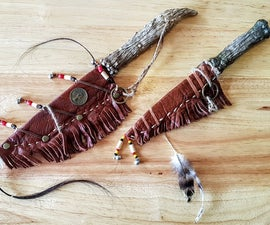 Build an Antler Knife From Epoxy