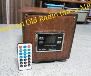 Old Radio to MP3 Player