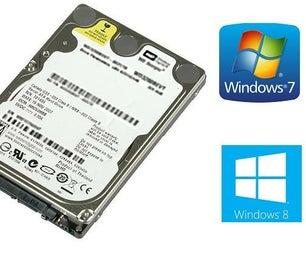 Install Windows 10/8.1/7 From Hard Drive [EN-ITA] Installare Windows 8-7 Da Hard Disk