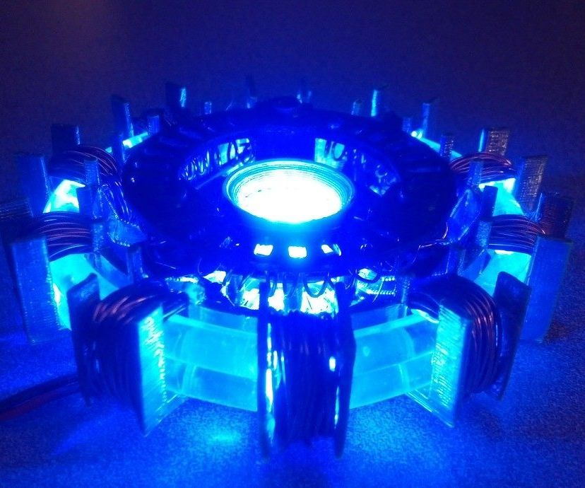 3-D Printed-Light Pipe Arc Reactor