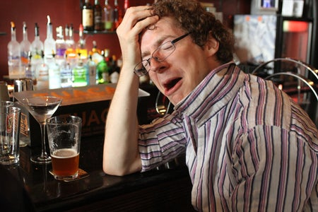 You Experienced Your Typical Four Stages of Drunkenness