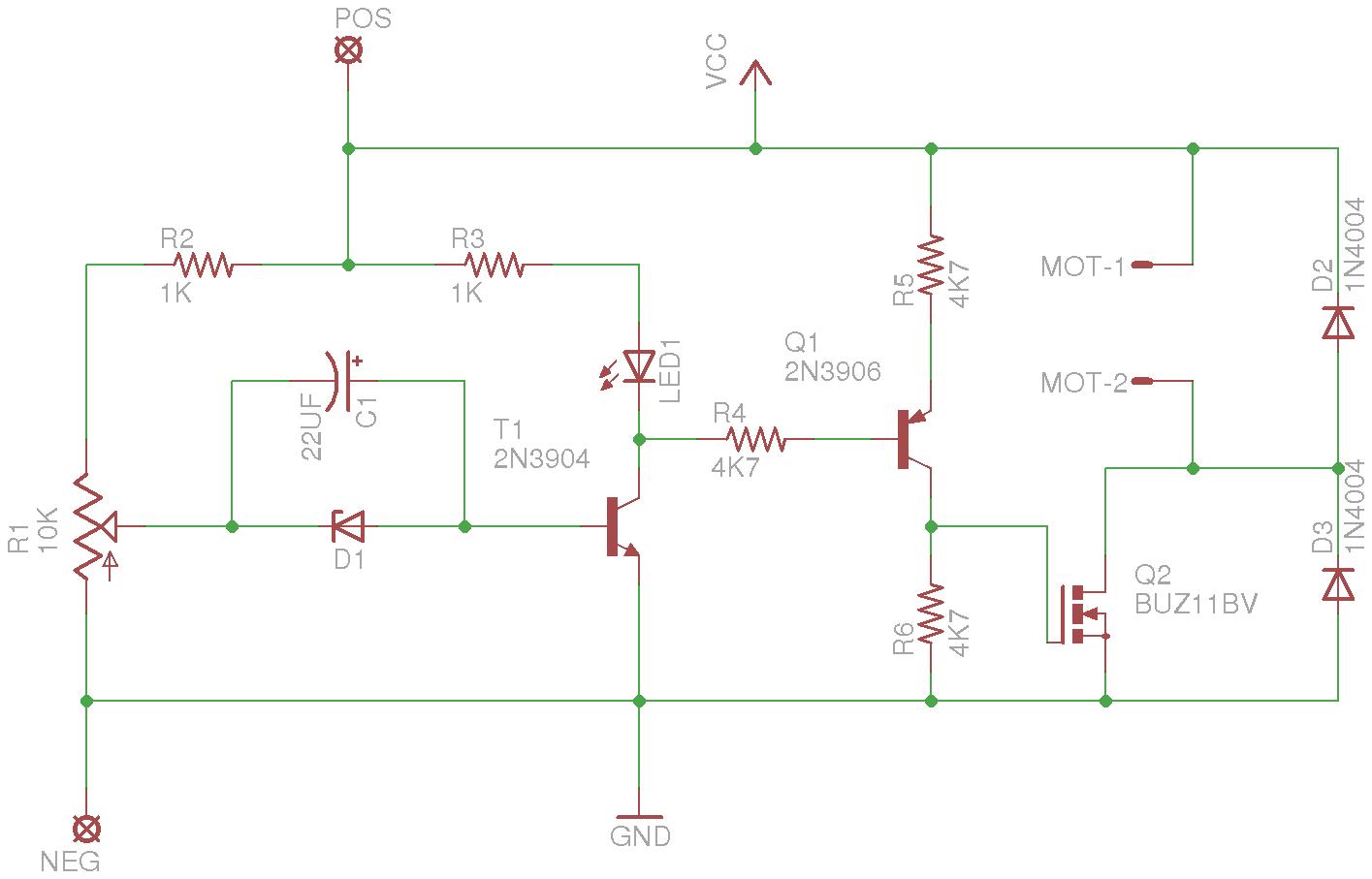 Low Battery Motor Shut Off Circuit