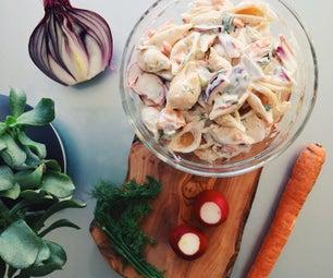 食谱 莳萝黄瓜意大利面沙拉