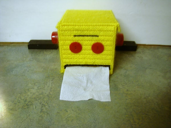 Instructables Robot T.P. Dispenser