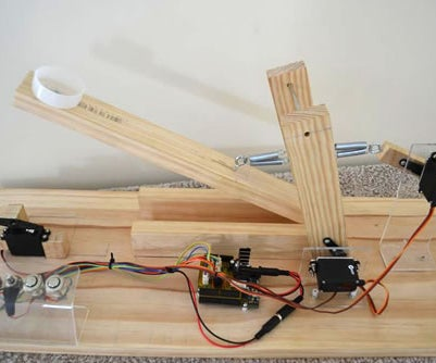 Arduino Controlled Catapult