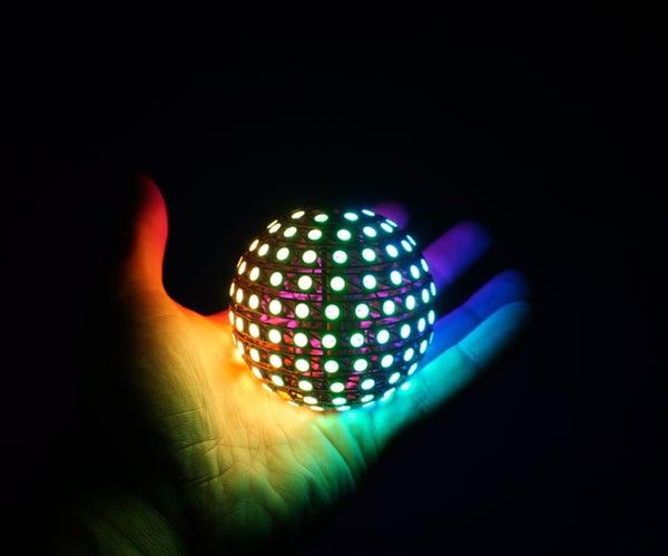 Freeform LED Sphere