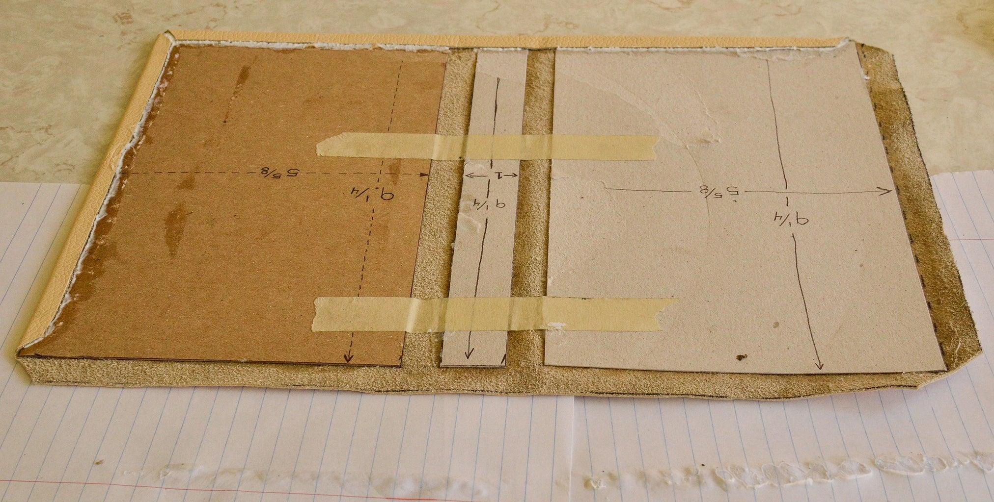 Fold and Glue the Leather Edges