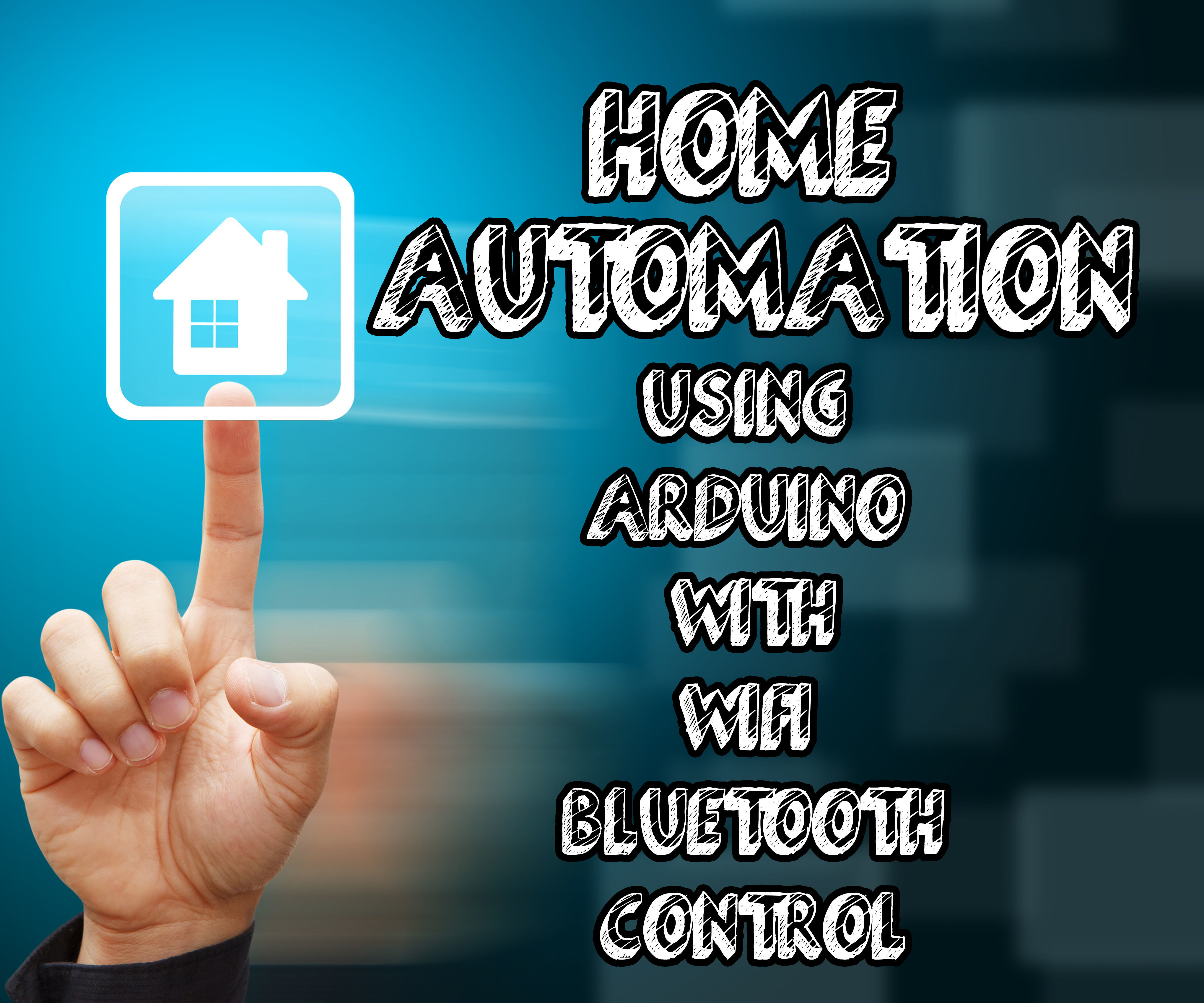 Home automation using arduino with wifi, bluetooth and IR remote control