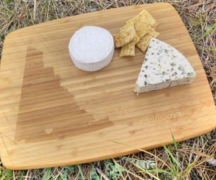 Personalised Laser Etched Cutting Board
