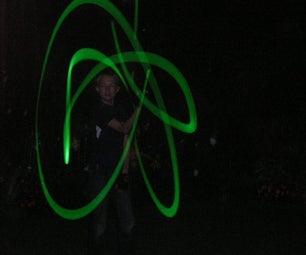 how to make a glow staff