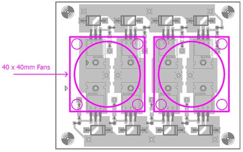 MOSFET Cooling Fans