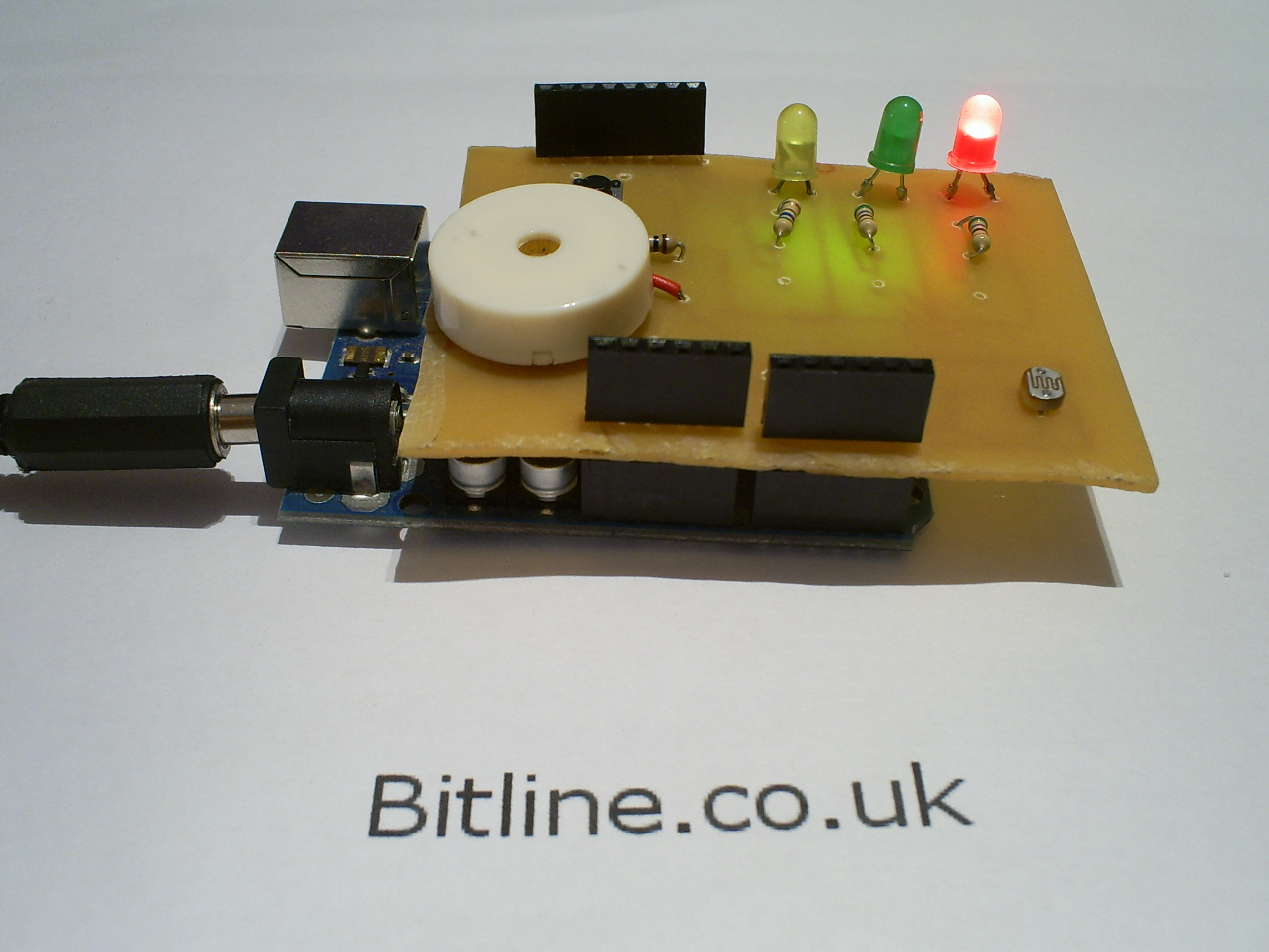 Arduino Laser Security Shield