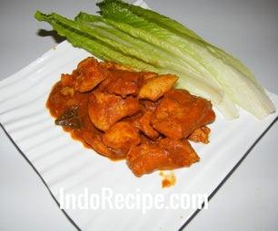 Chicken in Spicy Gravy (Spicy Chicken Curry)