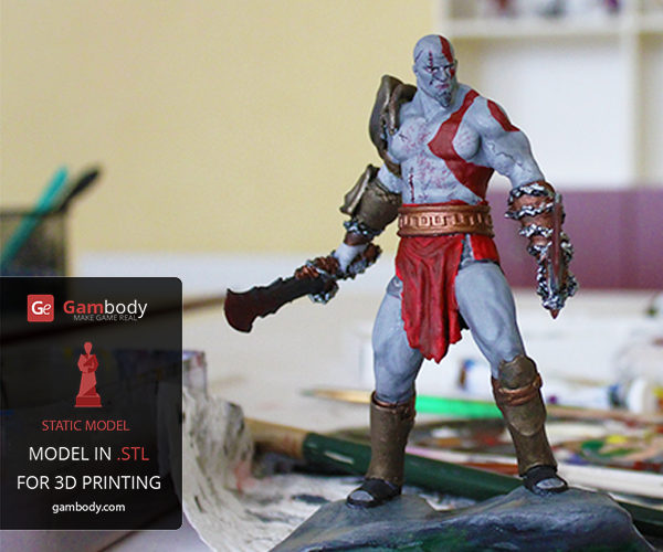 How to Create, Print, and Paint Your Own Video Game-Stylised 3D Model