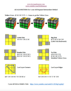 Full Video Tutorial How to Solve a Rubik's Cube