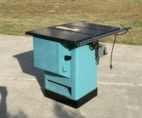 Fixing a Delta 36-750 Table Saw