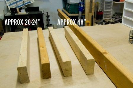 Base: Preparing and Cutting the Wood