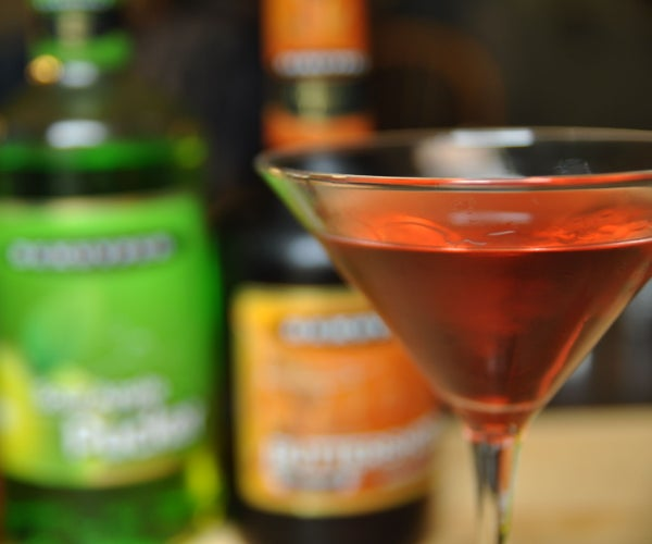 The Poison Apple Martini | Halloween Cocktail