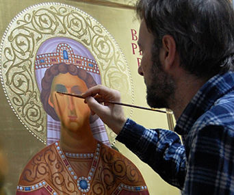 ICONOGRAPHY or EGG TEMPERA for RELIGION ICONS