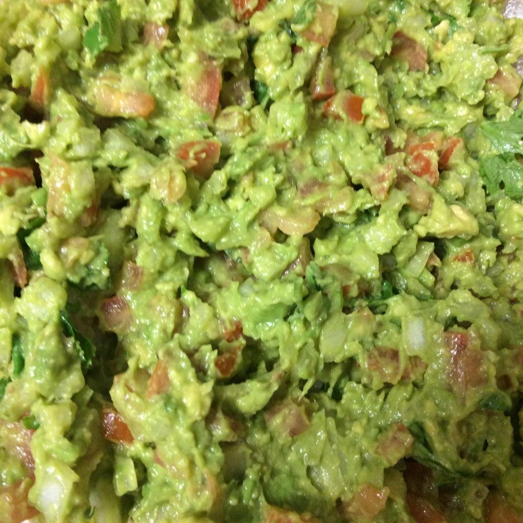 Guacamole - Recipe 2 (Avocado, Mung Bean Sprout +++)