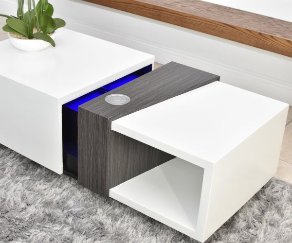 Coffee Table With a Secret Motorized Compartment