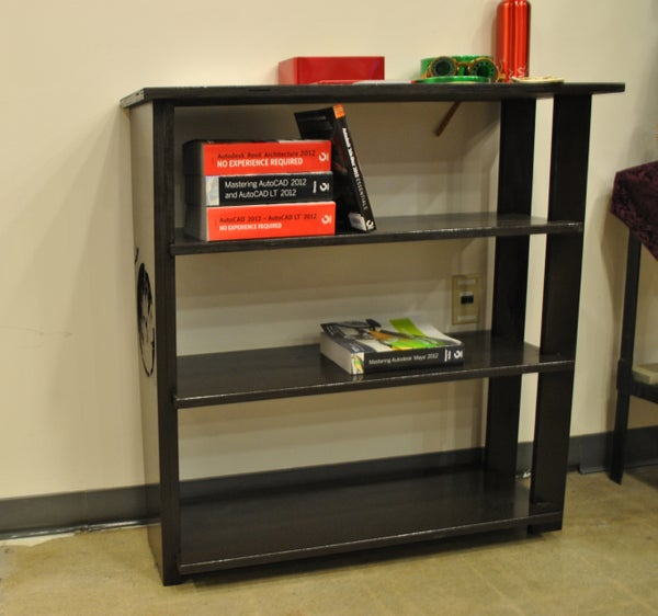 Simple Bookshelf From TechShop