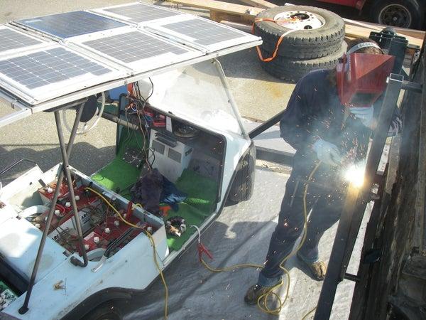 Solar Welder