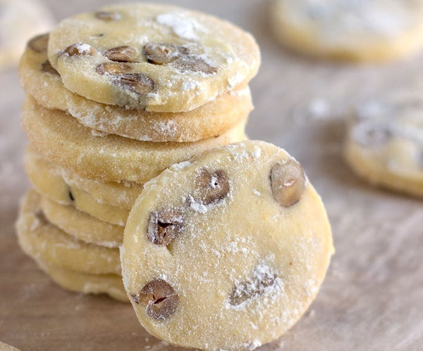 Butter Cookies With Hazelnuts