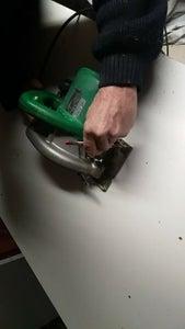 Step 4 for Marking the Srews Holes