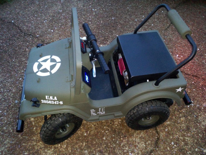 Make a Racing Powerwheels Jeep