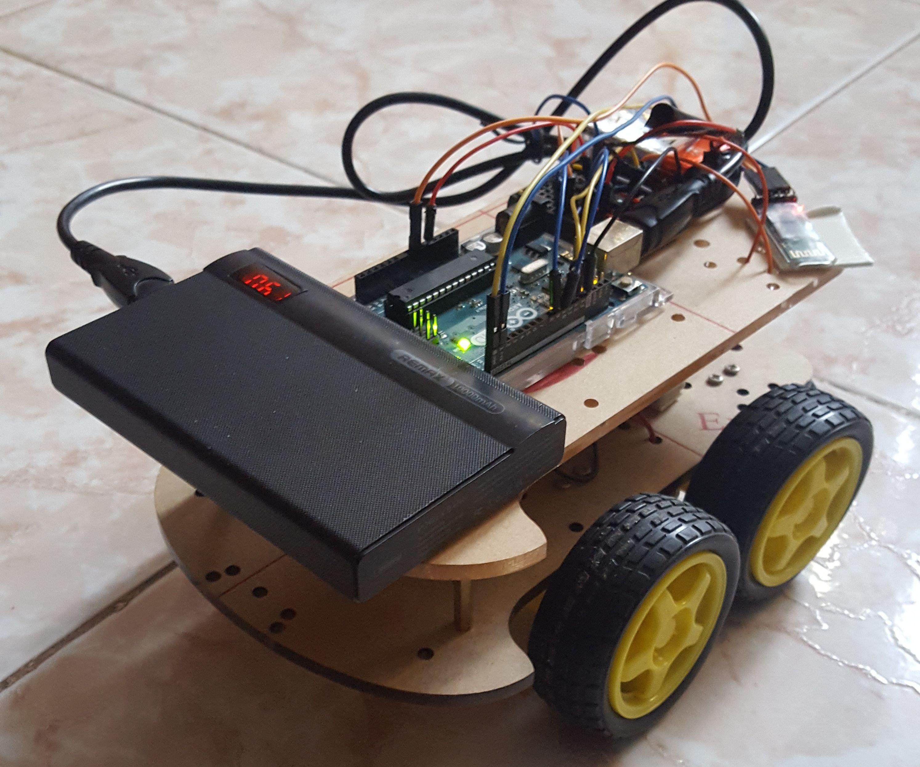 Arduino Controlled Car (Bluetooth)