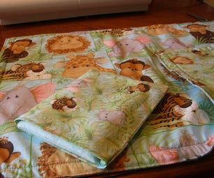 Kid Craft - Baby Doll Quilt and Pillow Set