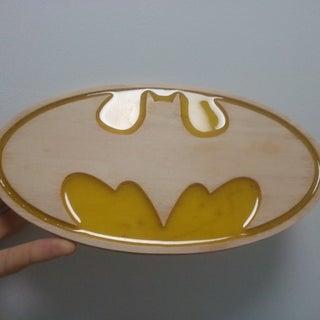 Batman Wood & Resin Emblem