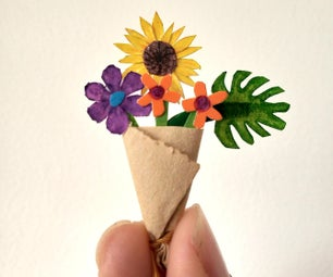 给我妈妈的一小束花