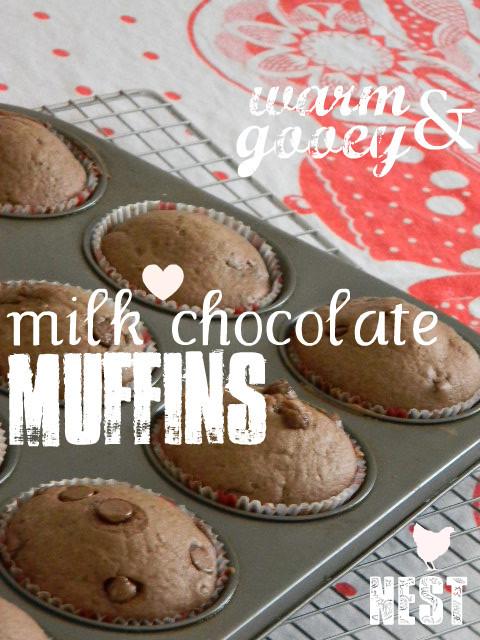 make warm pantry muffins