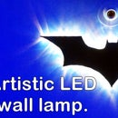 Artistic LED wall lamp