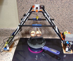 Egglift: an Automatic LEGO Egg Cooker