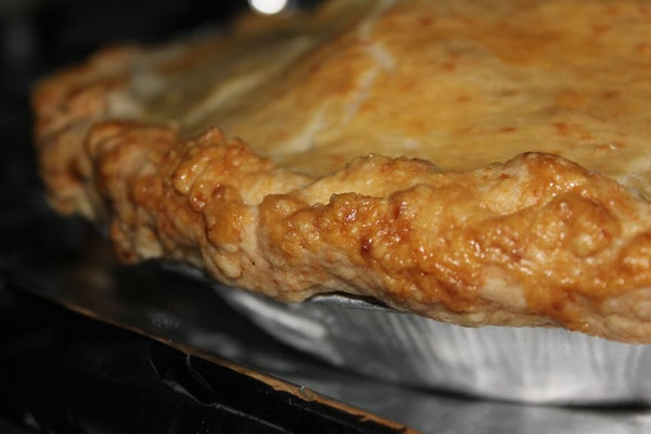 Tart Apple Pie With Gruyere Crust
