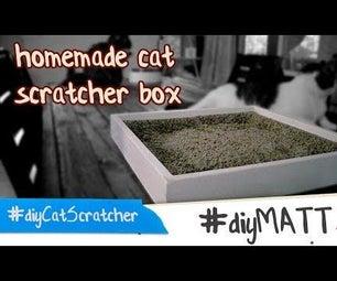 Homemade Cat Scratcher