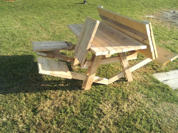 The Awesome Picnic Table