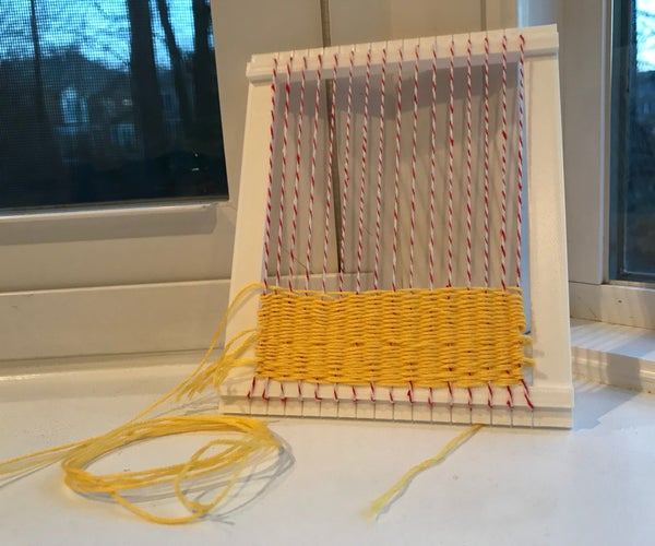 3D Printed Mini Loom