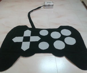 Full Function Wireless Joystick Rug for PC - No Stitch
