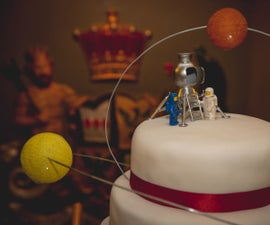 Space Themed Wedding