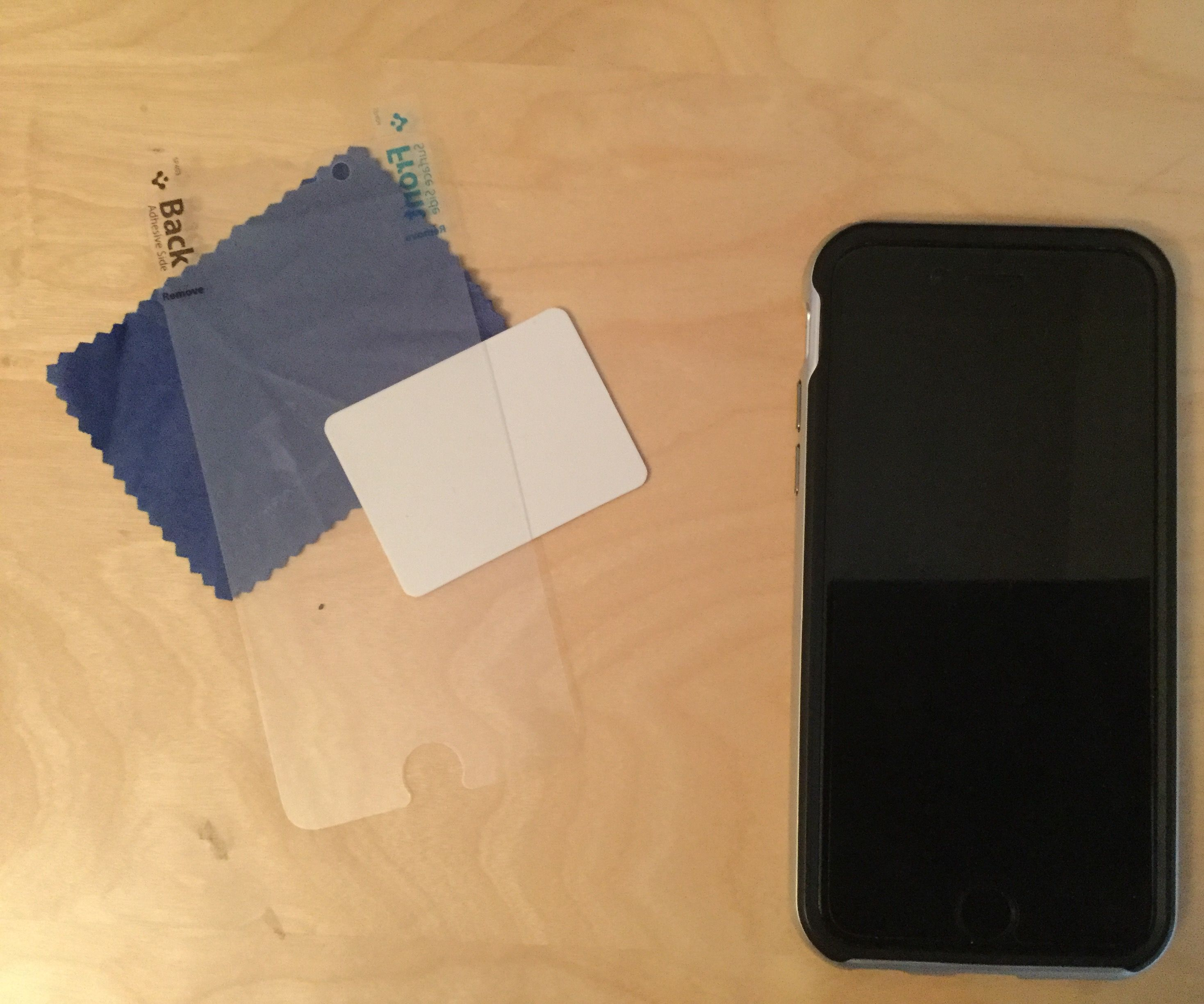 How to Perfectly Apply a Screen Protector