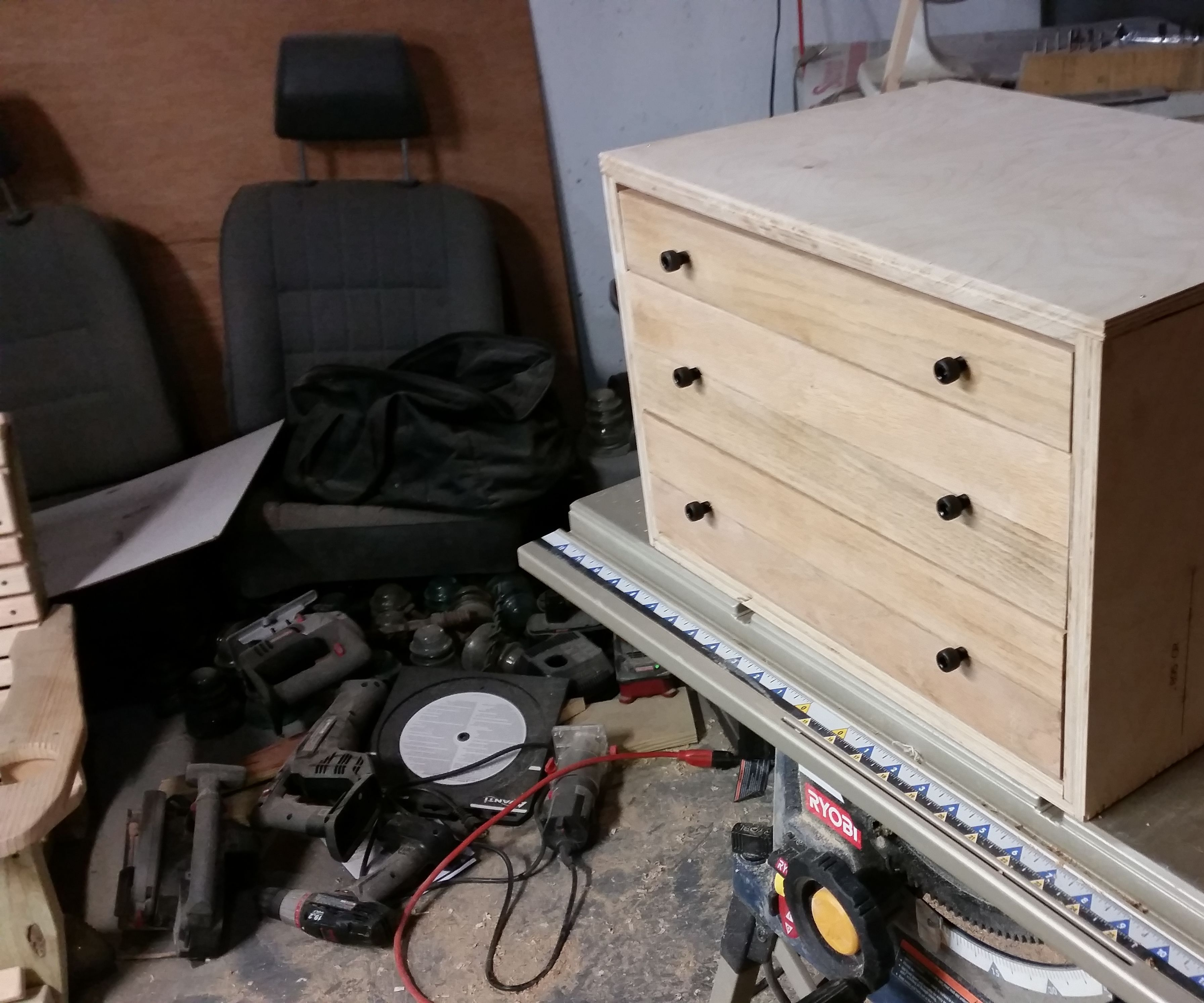 Tool Chest From Reclaimed Parts