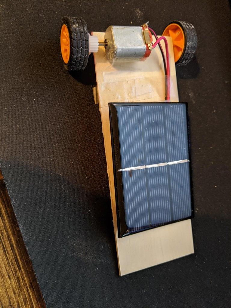 DIY Solar Powered Mini Vehicle